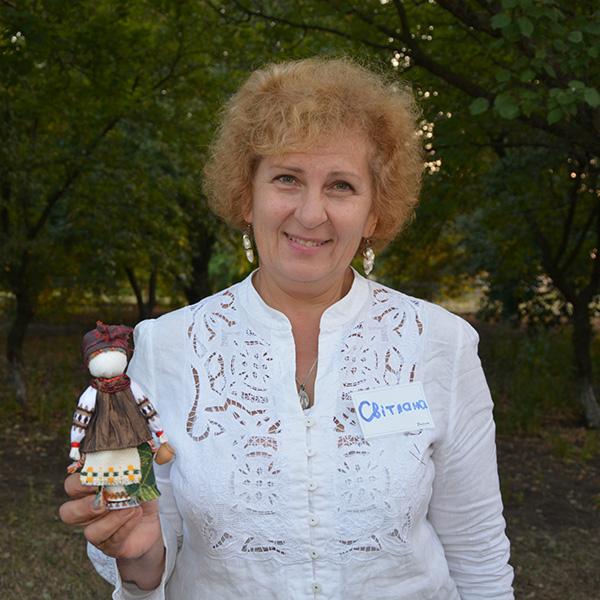 Кравченко Світлана, гід проєкту