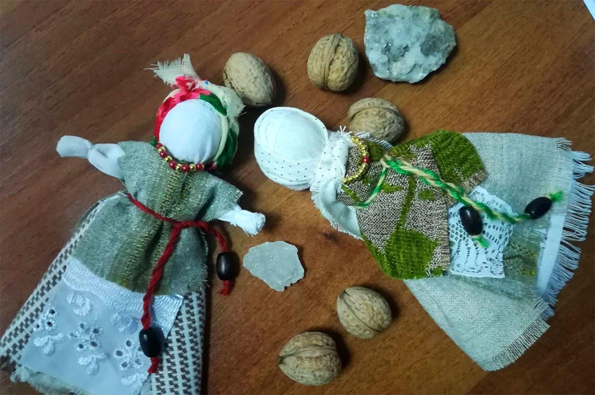 Набір для майстер-класу «Лялька-тарахкальце з сіллю»