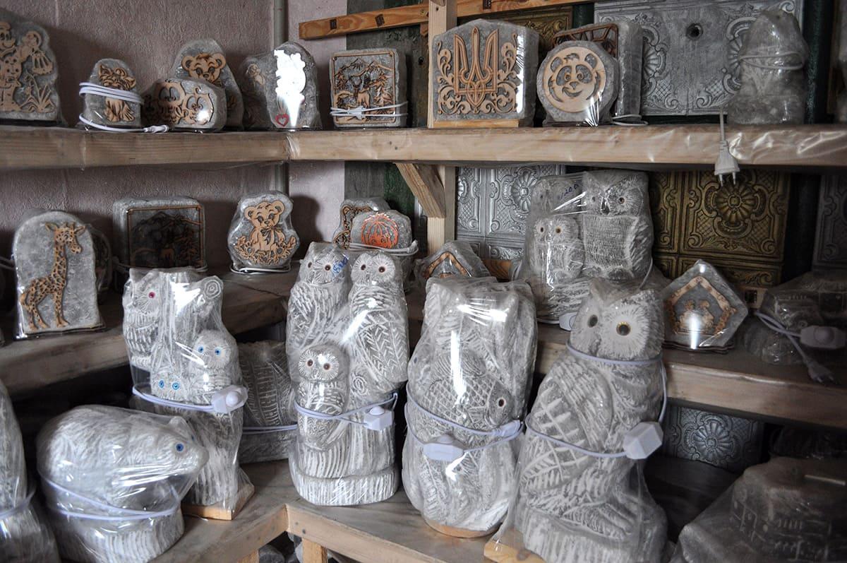 фотоотчёт из соляных мастерских