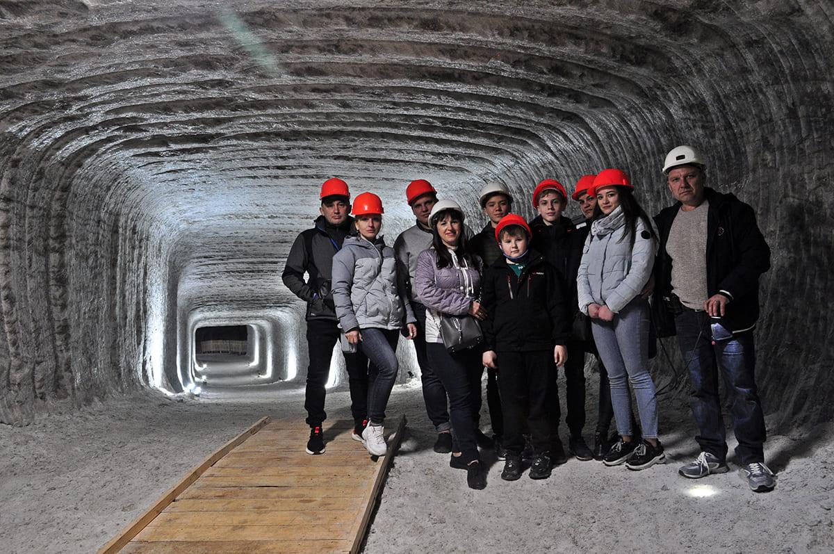 екскурся у соляну шахту